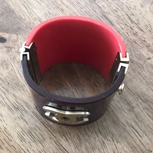 CHANEL Jewelry - Authentic Chanel Resin Cuff